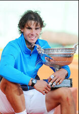 Rafael Nadal ‏ 10x 8 UNSIGNED photo - P389 - Grand Slam Tennis Champion