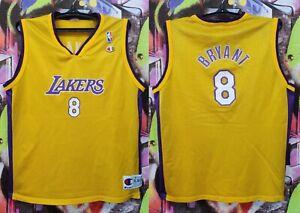 Los Angeles Lakers Kobe Bryant #8 NBA Basketball Sleeveless Top Youth XL/Mens S