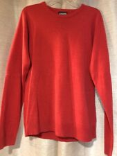 Topman Mens Size Large Sweater Light Red 100% Acrylic