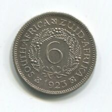SOUTH AFRICA 6 PENCE 1923 SILVER PROOF