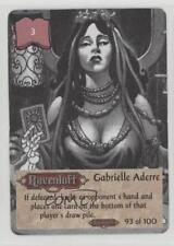 1994 Spellfire: Master the Magic - Ravenloft 93 Gabrielle Aderre Gaming Card 2k3