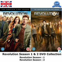 Revolution - Season 1-2 Complete 1 & 2 Collection with all 42 Episodes UK R2 DVD