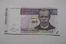 2004 MALAWI K20 KWACHA NOTE