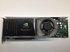 Nvidia Quadro FX 5600 1.5GB GDDR3 512-Bit PCI E Dual DVI 180-10357-0000-A03 USED