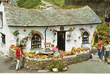 OLD POSTCARD - CORNWALL - The Pixie Shop. Boscastle - c 1970s