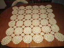 Vintage Crochet Tablecloths (2)