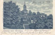 Ak Breslau Wroclaw Liebichshöhe Litho Polen Schlesien Slask 1899