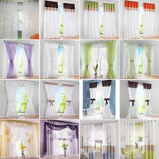 Schlaufenschal Vorhang Gardine Gardinenschal Schlaufen Blumenmuster