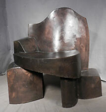 Modern Abstract Welded Bronze Sculpture Robert T Cole American  ala Moore