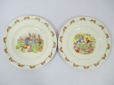 More details for vintage royal doulton bunnykins by barbara vernon plates