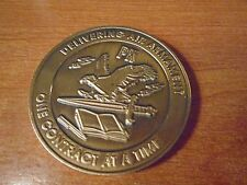 US Air Force Materiel Command Armament Center Military Weapons Challenge Coin