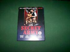 Secret Army (DVD, 2010).The Complete First Series Box Set.BBC 4 DVD Set.