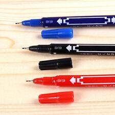 crayon feutre signature bureau maison pratique double marqueur Permanent chaud