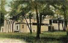1907-1915 PCK Postcard; Colfax Iowa IA Auditorium, Epworth Park, Jasper Co. Used