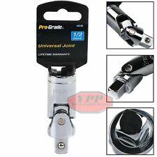 "1/2"" Drive Universal Joint Socket Set Swivel Flex Joint Adapter U Joint 14010"