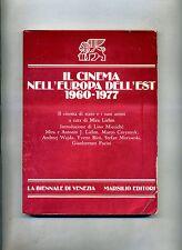 IL CINEMA NELL'EUROPA DELL'EST 1960-1977 # Marsilio 1977 1A ED.