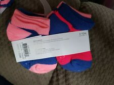 Carters 6 Pairs Of Baby Girl Infant Socks 3-12 Months Brand New