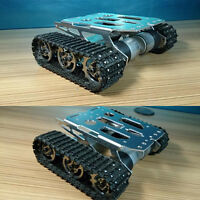 Educational Competition Metal Robot Tank Crawler Chassis For Arduino Hobbyist