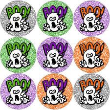 144 Boo Halloween Ghost Theme 30mm Children's Reward Stickers Teacher, Parent