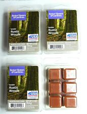 Better Homes & Garden 2.5 oz Warm Rustic Woods Wax Cubes (4 Pack) FREE SHIPPING!
