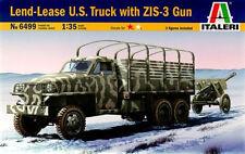 Italeri  1/35    Studebaker US Truck with ZIS-3 Gun #6499
