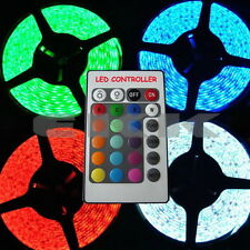 5M 24V PCB Waterproof 5050 SMD RGB 300 LED Car Strip + Controller +Tracking KB