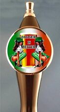 Sexy Girls Irish Beer Tap Handle tapper for Kegerator or Faucet