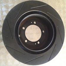 SLOTTED EVO 6 7 8 9 Rear Brake 300mm rotors *DIRECTIONAL INTERNAL COOLING VANES*