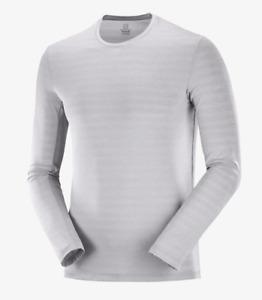 2021 Salomon Men's XA Long Sleeve Running Shirt - Medium