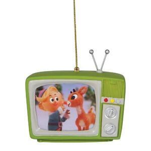 Rudolph Green TV Ornament 6006965