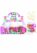 Confettis blancs pour le mariage, non personnalisés