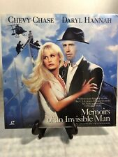MEMOIRS OF AN INVISIBLE MAN LASERDISC - BRAND NEW LD