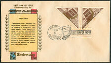 1960 25TH ANNIVERSARY CONSTITUTION OF THE PHILIPPINES First Day Cover - C