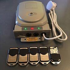 Neco Multi Channel Remote Control System (Euro) Roller Shutters + 5 Remotes