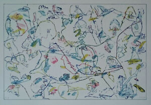 Jan Voss Original Lithograph S/N