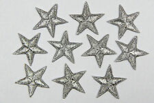Stars patches > star applique > embroidered > iron-on or sew-on  > very pretty!