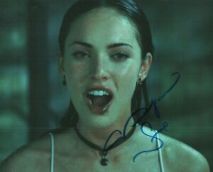 Autographed Megan Fox signed 8 x 10 photo Hot