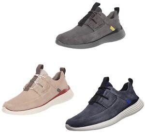 Men Cole Haan Grandsport Apron Toe Sneakers Shoes Suede