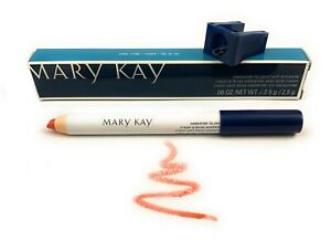 "💋Mary Kay Weekender Lip Pencil & Sharpener ""Coral Stone"" Rare, Discontinued"