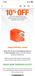 Home Depot 10% Off Coupon - Expires 8/31