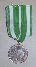 GERMAN -  SAXON, 9 Yr. Service Medal. AFA. 1874-1913.