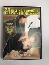 Dvd 24 Killing Blows Chinese Military Martial Arts