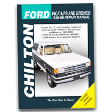 Chilton Repair Manual for 1980-1997 Ford F-350 - Shop Service Garage Book xf