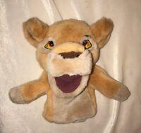 "Disney Store Lion King Kiara Hand Puppet 10"" Simba's Pride 1998"