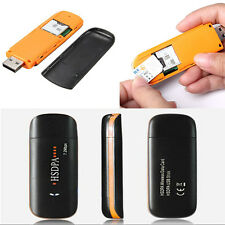 Mini HSDPA USB 7.2Mbps SIM Modem Wireless 3G Dongle TF Card Adapter Reader Stick