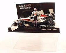 Minichamps F1 Honda Racing RA106 #12 Button Hungary winner 2006 1/43 neuf MIB
