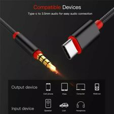 Type C Audio Cable USB Type-C Male To 3.5mm Jack Male Car AUX Audio Adapter