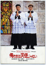We're No Angels JAPAN PROGRAM Neil Jordan, Robert De Niro, Sean Penn, Demi Moore