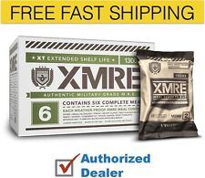 New XMRE 1300XT Meal Kit, Case of 6 Meals w/Heater Military Grade, Free Shipping