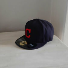 Cleveland Indians MLB 59FIFTY 'Block C' Logo Fitted Baseball Cap
